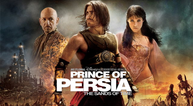 The Prince of Persia movie poster.